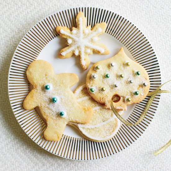 Ginger-Studded Sugar Cookies