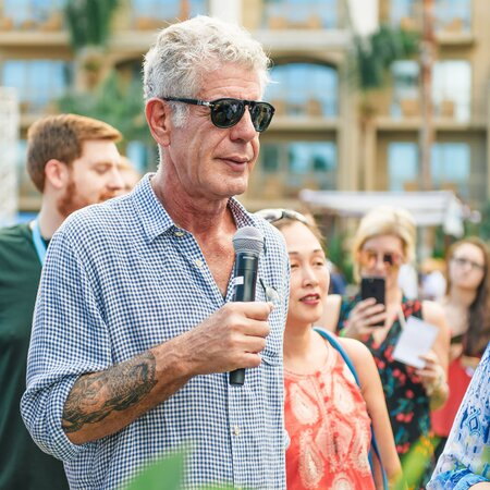 312fcaf3764 Anthony Bourdain Is Looking Forward to Watching the  Total Shame and  Discomfort  at the Oscars. Anthony Bourdain. Anthony Bourdain