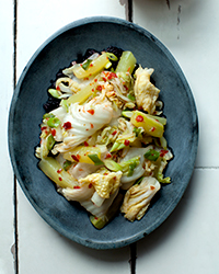 Quick Cucumber, Cabbage, and Scallion Kimchi