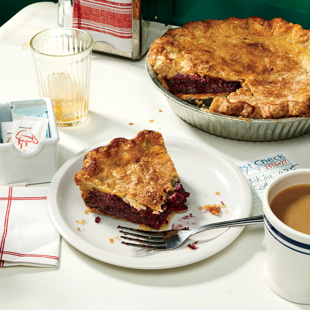 Huckleberry and Butter Pie