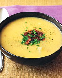 Potato and Cheddar-Cheese Soup