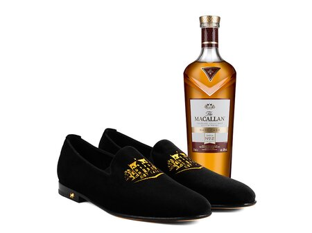 7757fa95530a7 The Macallan Launches Men s Loafers Inspired by Rare Cask Whisky