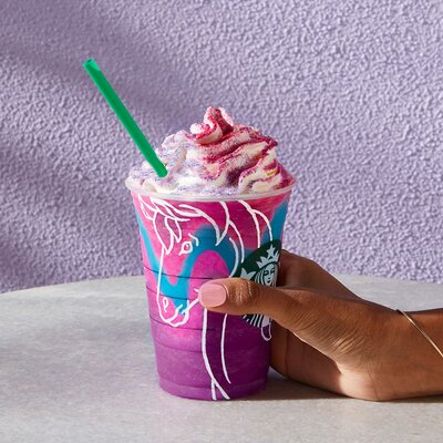 How To Make A Unicorn Frappuccino At Home Food Wine