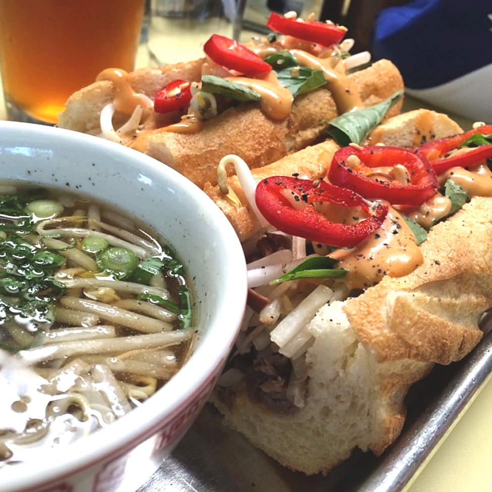 The brilliant mashup of French Dip and Pho at East Borough