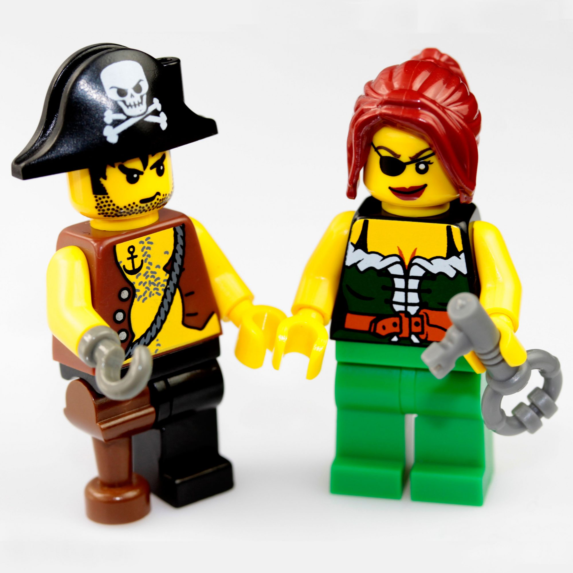 Keep talking about your imaginary ex, the Lego pirate man Captain Redbeard.™
