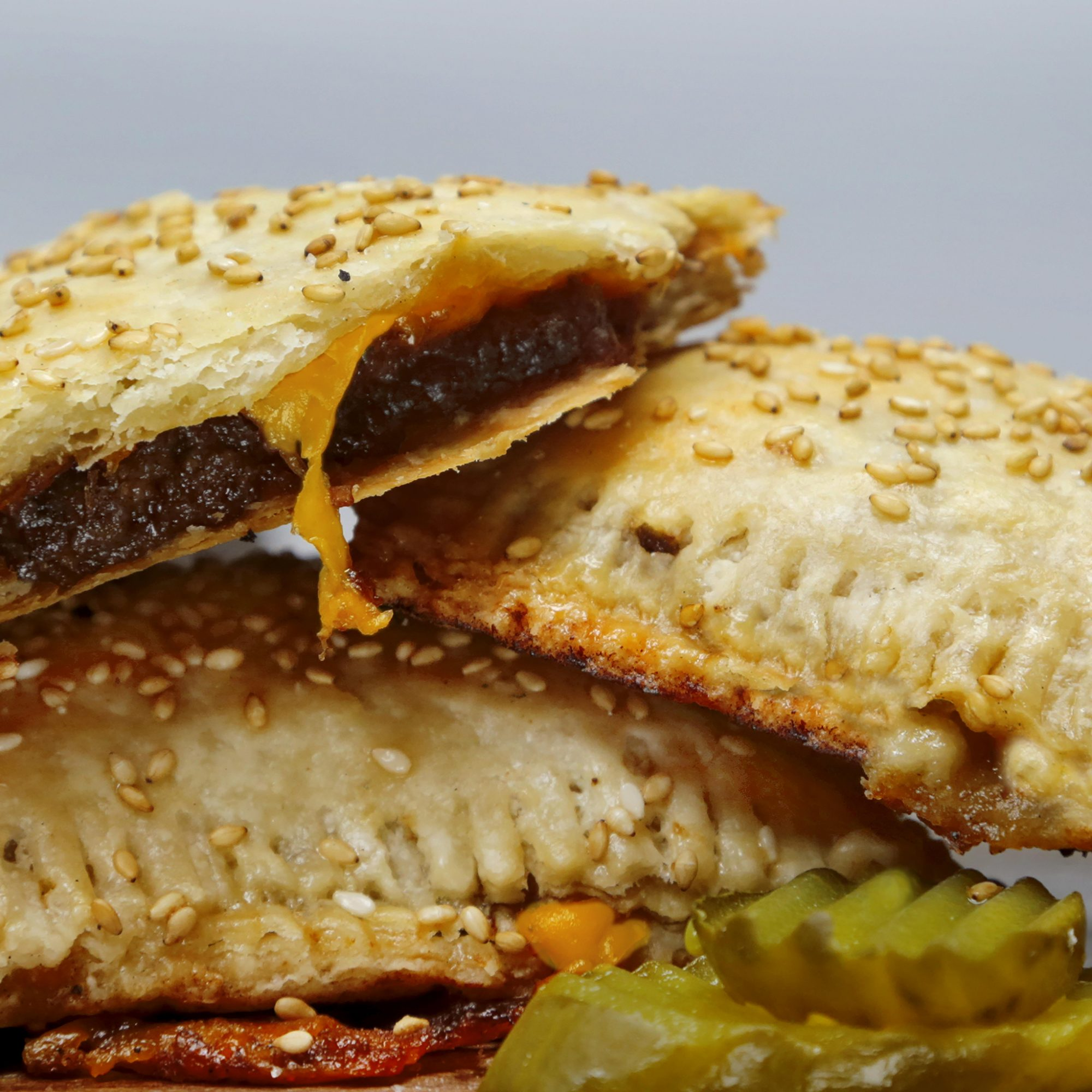 Meaty, savory, cheeseburger Pop-Tarts.