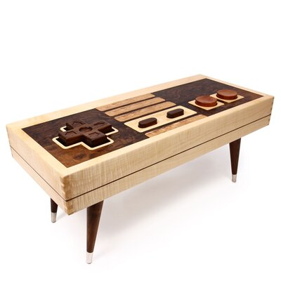 Controller Coffee Table.A Giant Nintendo Controller Coffee Table For Big Gamers Food Wine