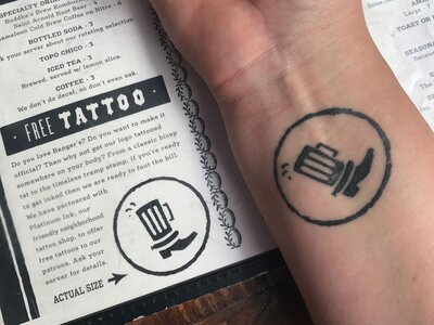 Thousands of People Have This Restaurant Logo Tattooed on Their ...