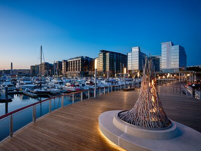 D C S Surprisingly Beachy Waterfront Is The City S Best New