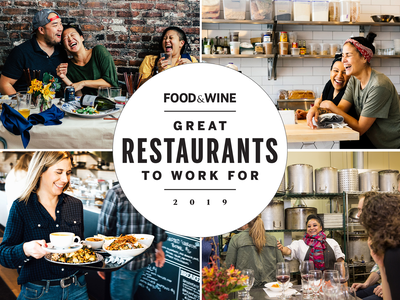 19 great restaurants to work for