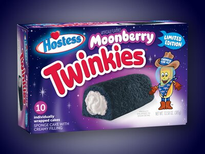 Dark Blue Moonberry Twinkies Land At Walmart Food Wine