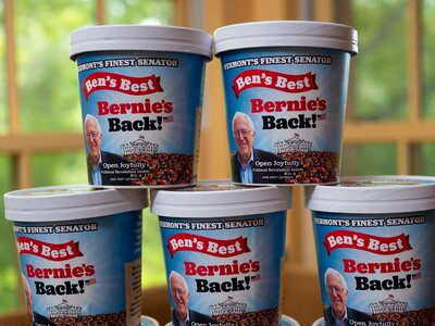 Best Diets 2020 Bernie Sanders Will Get 'a Full Line' of Homemade Ice Cream
