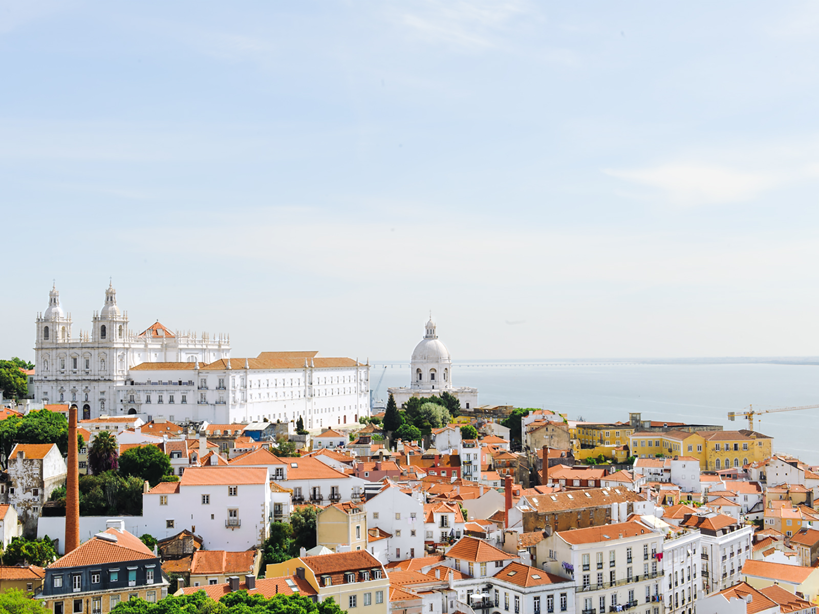 Lisbon's seven hills mean you are never far from rooftop views.