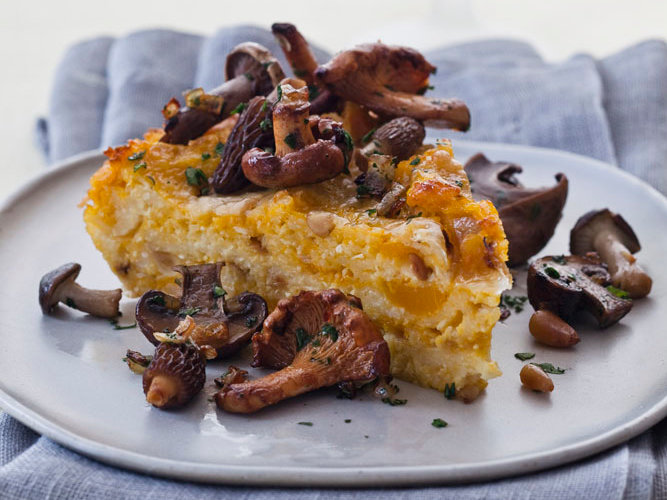 Baked Butternut Squash-and-Cheese Polenta