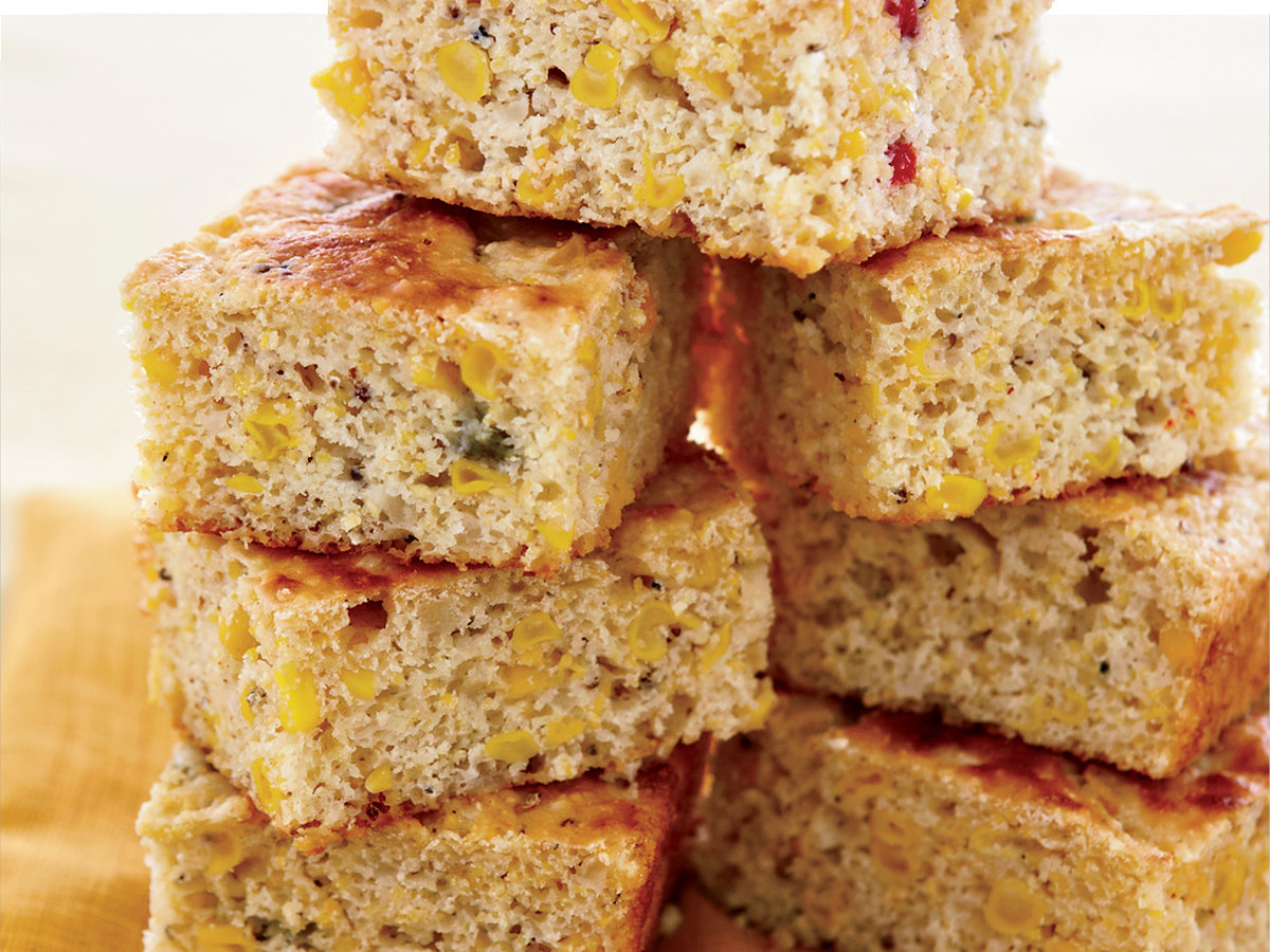 Skillet Corn Bread with Corn Relish