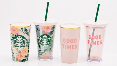 These New Starbucks Cups Scream Out For A Unicorn