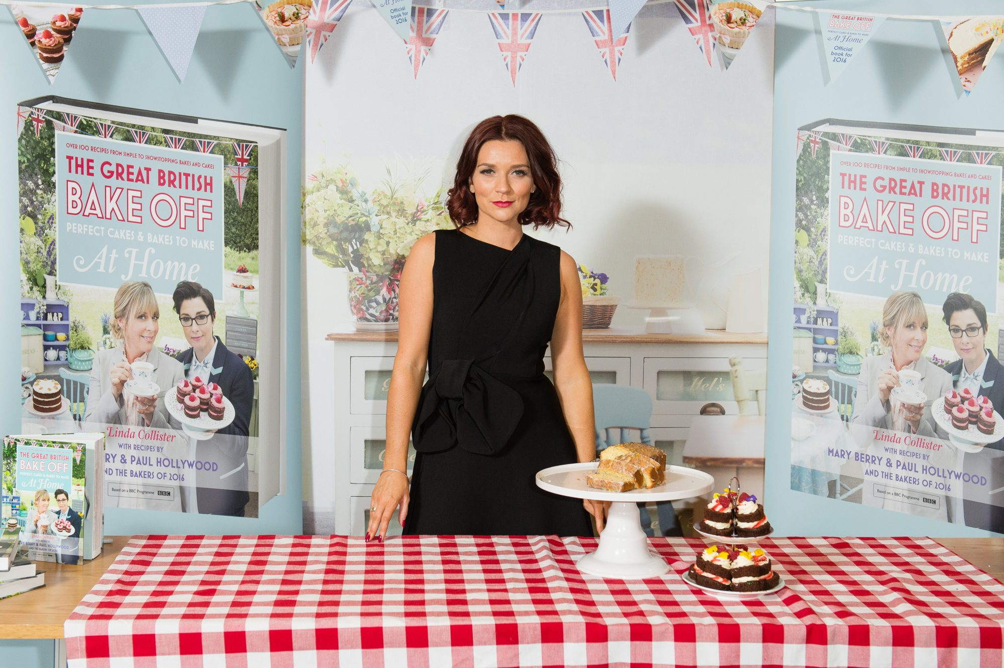 Great British Bake Off winner Candice Brown signs copies of 'The Great British Bake Off: Perfect Cakes & Bakes to Make at Home' at Waterstones, Piccadilly on October 27, 2016 in London, England.