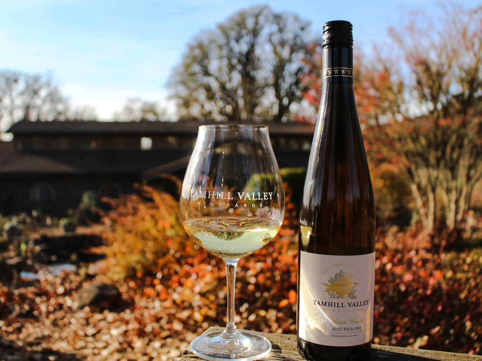 2017 Yamhill Valley Vineyards Estate Grown Riesling McMinnville