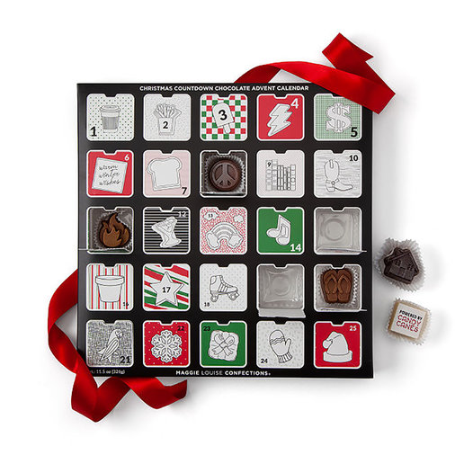 Edible Artwork Chocolate Advent Calendar