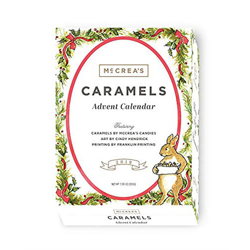 McCrea's Candies 2019 Caramel Advent Calendar