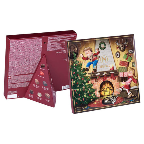 NEUHAUS Belgian Chocolate 2019 Classic Advent Calendar