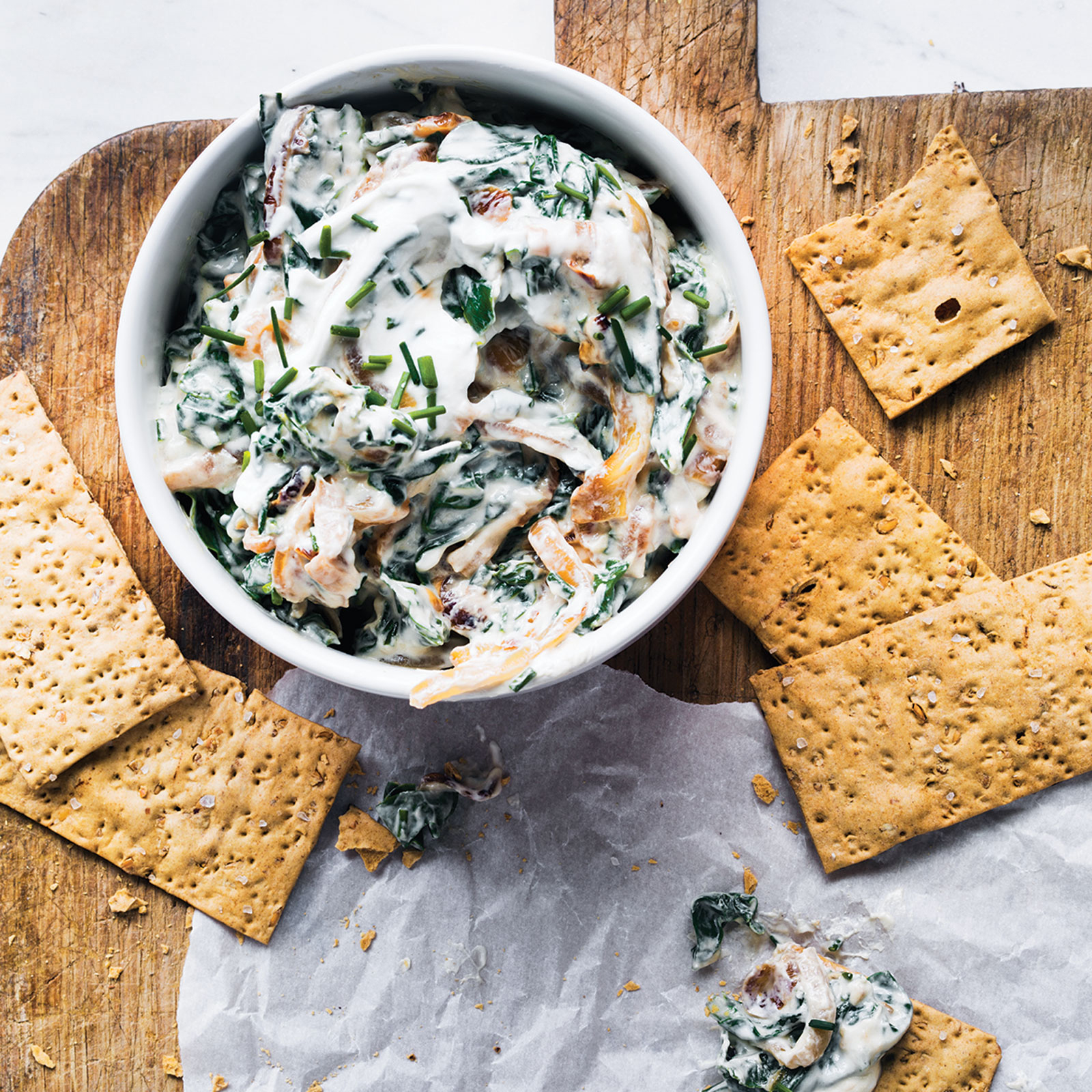 Spinach-Onion Dip