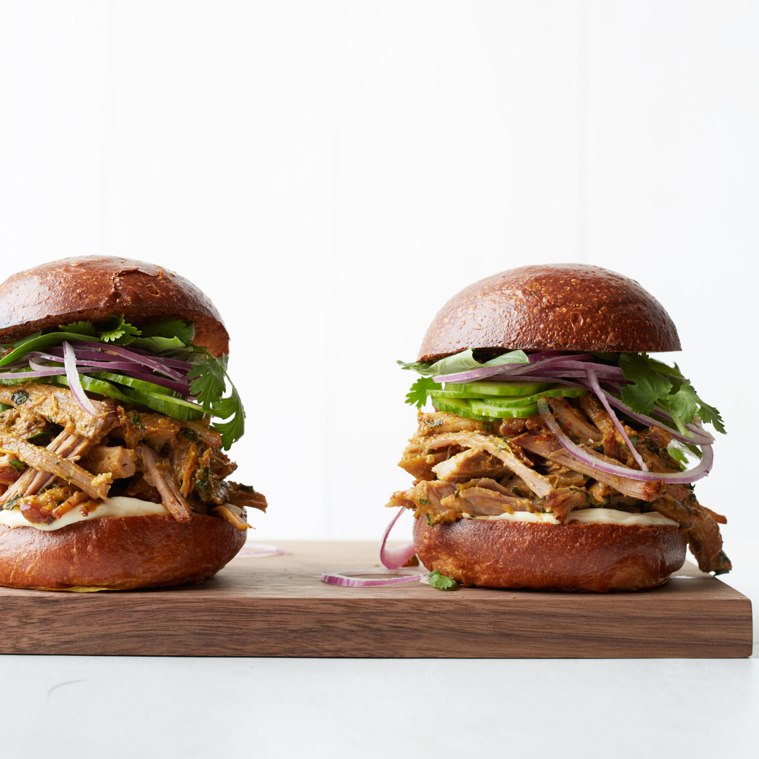 Thai-Style Pulled Pork Sandwiches