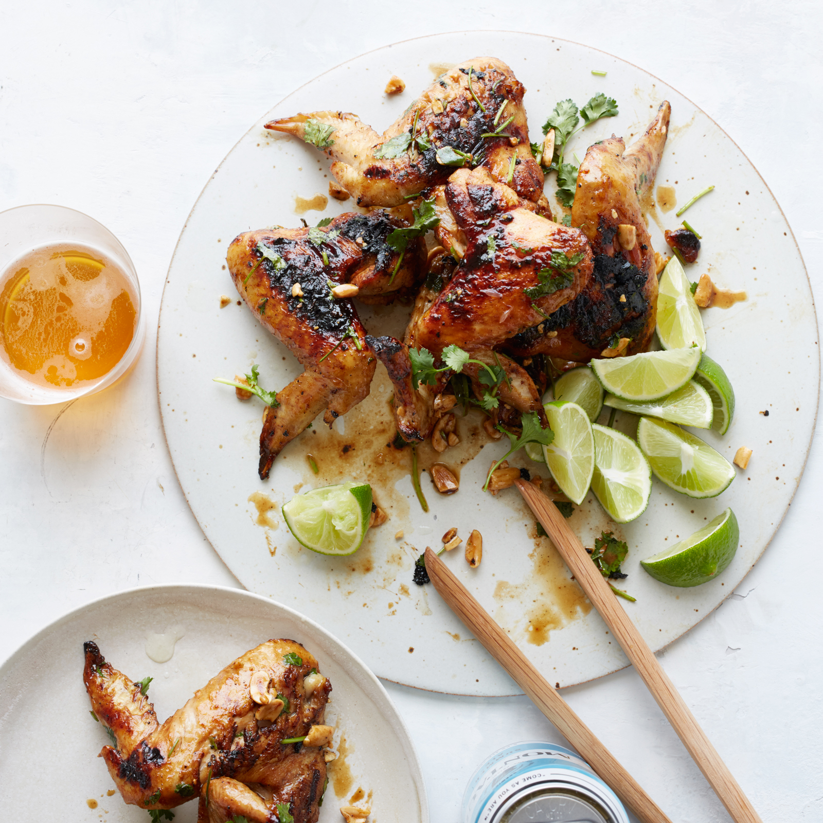 Ginger and Honey Chicken Wings