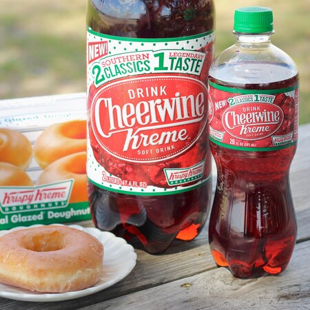 fd78bbf77ddf You Can Now Have Your Krispy Kreme in Soda Form