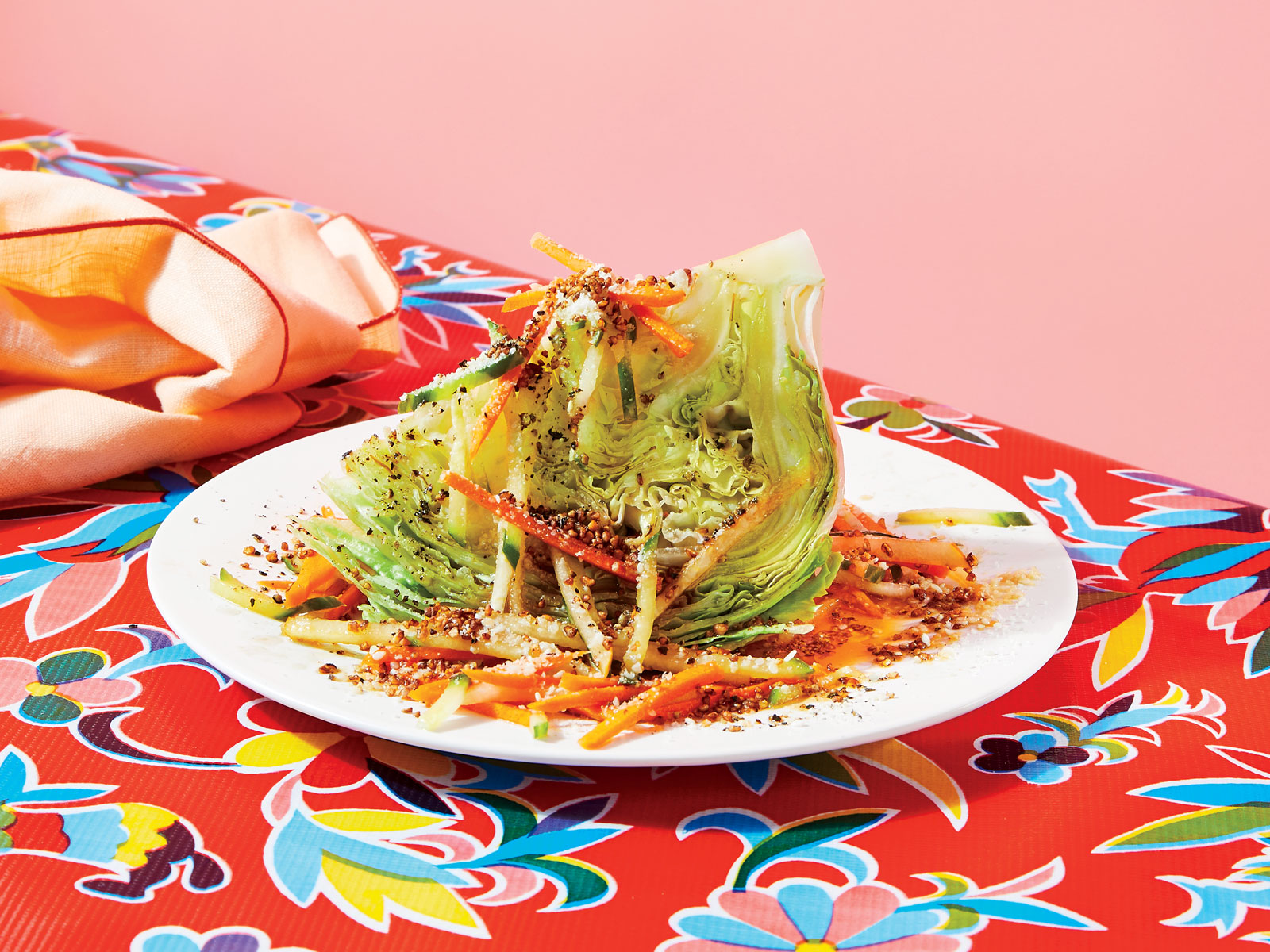 Wedge Salad with Passion Fruit Ponzu
