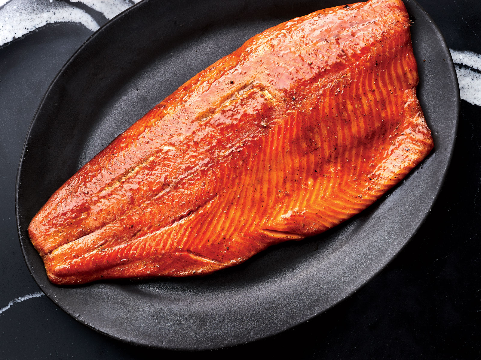 Barbecue Spiced Hot Smoked Salmon