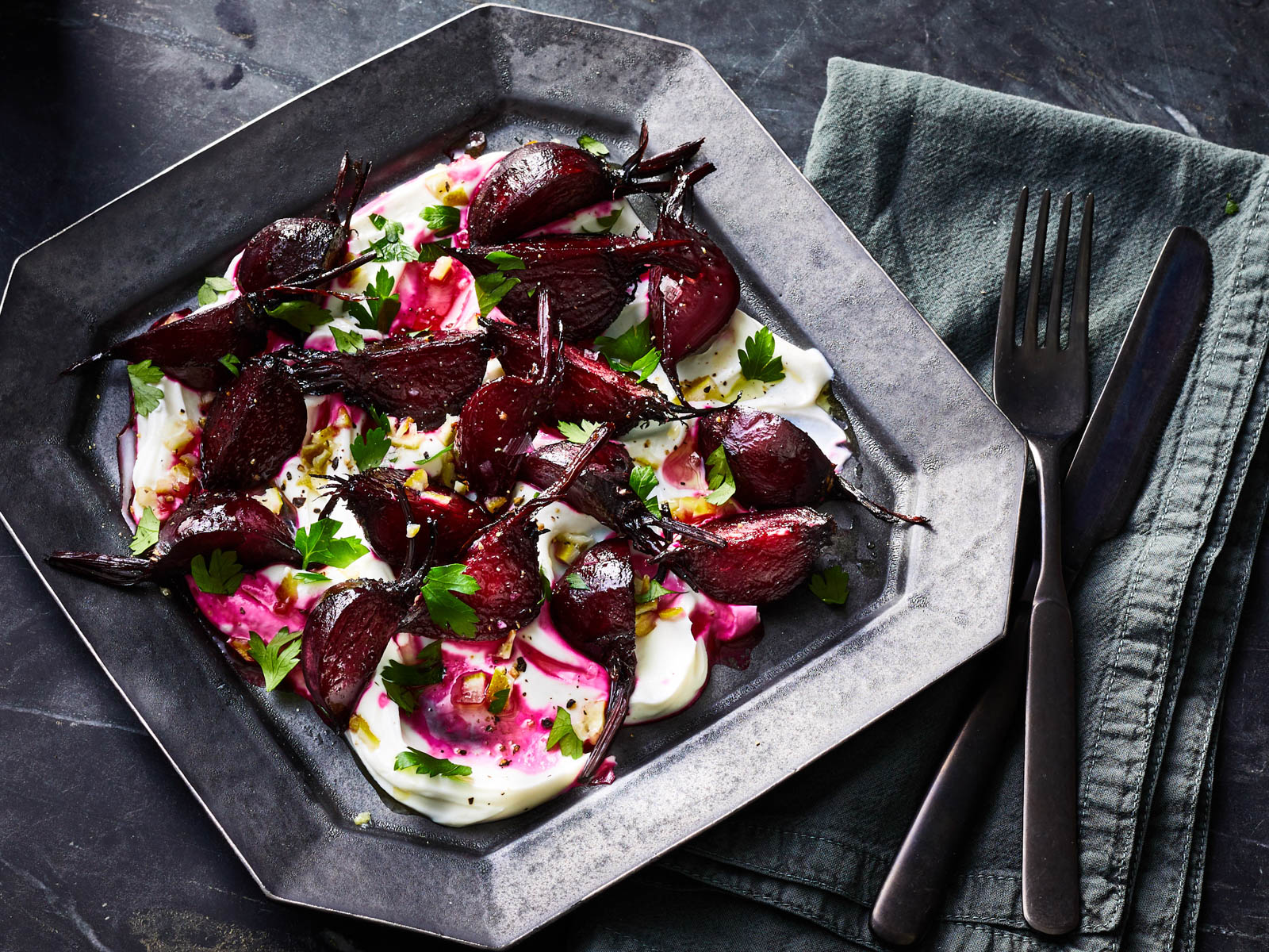 Beet Salad with Preserved Limes Recipe