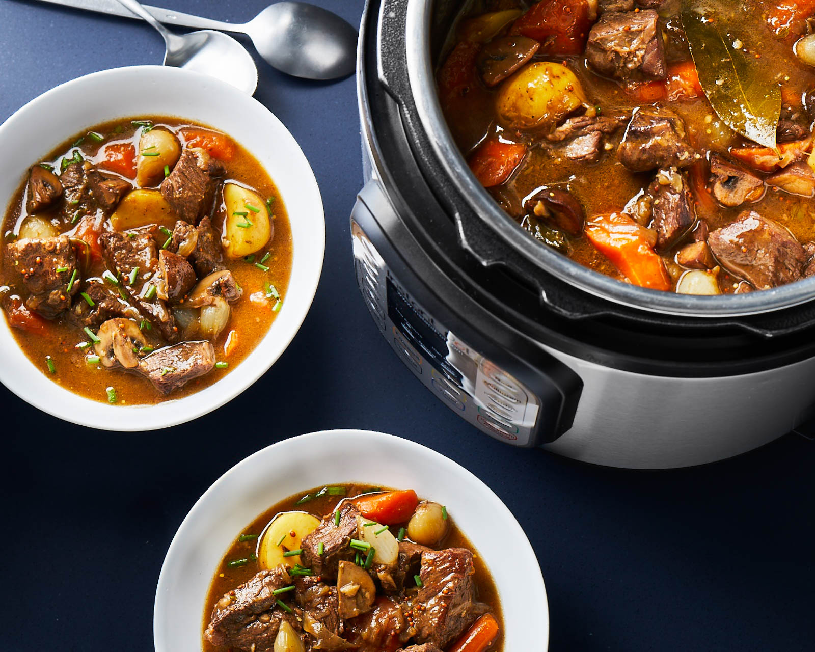 Instant Pot Classic Beef Stew Recipe - Robby Melvin | Food & Wine