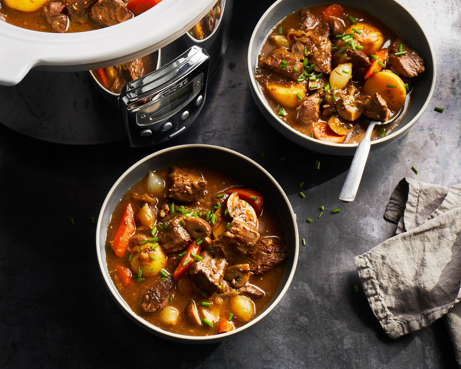 Classic Beef Stew Slow Cooker