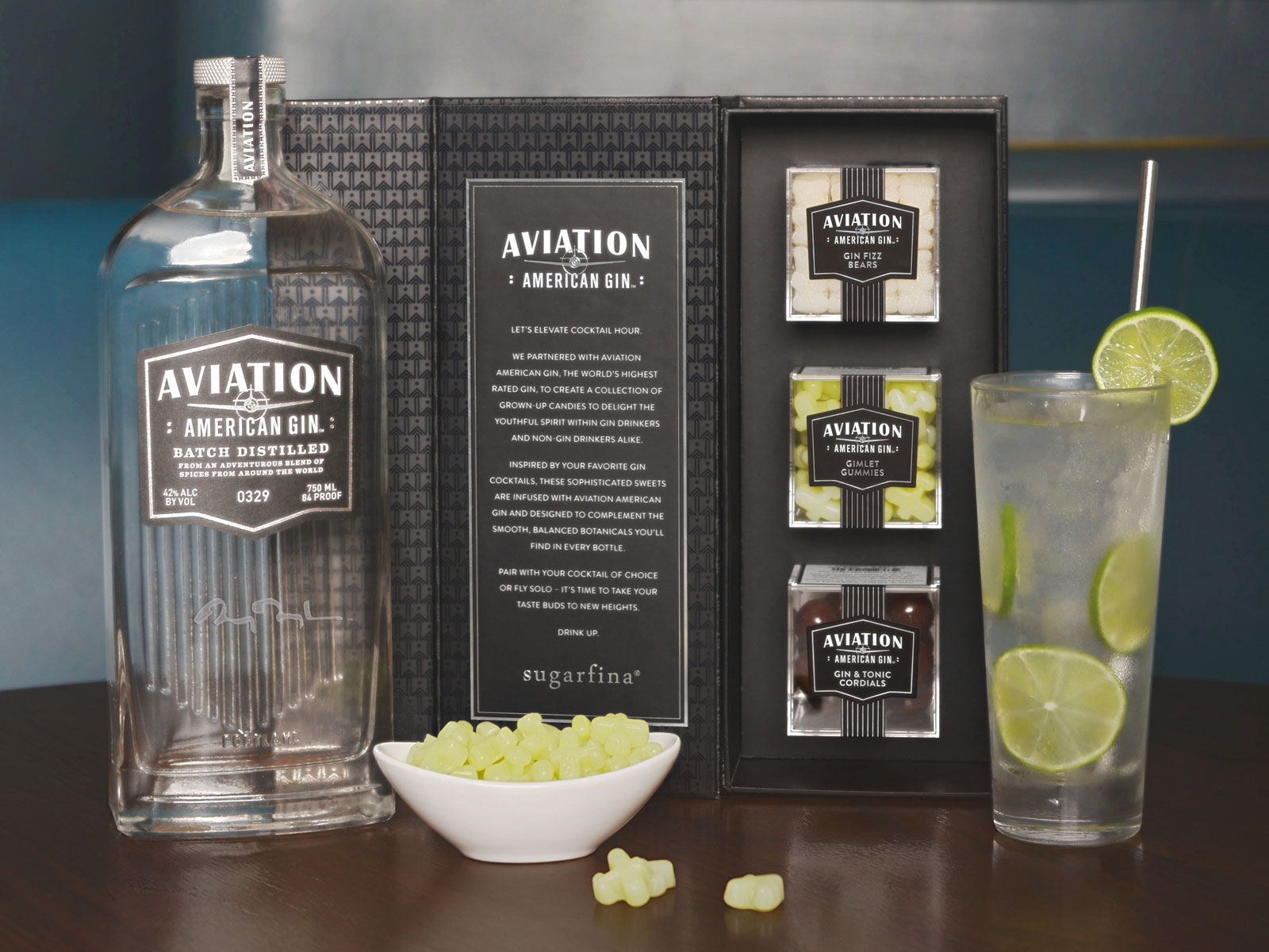 Sugarfina Aviation Gin Candy
