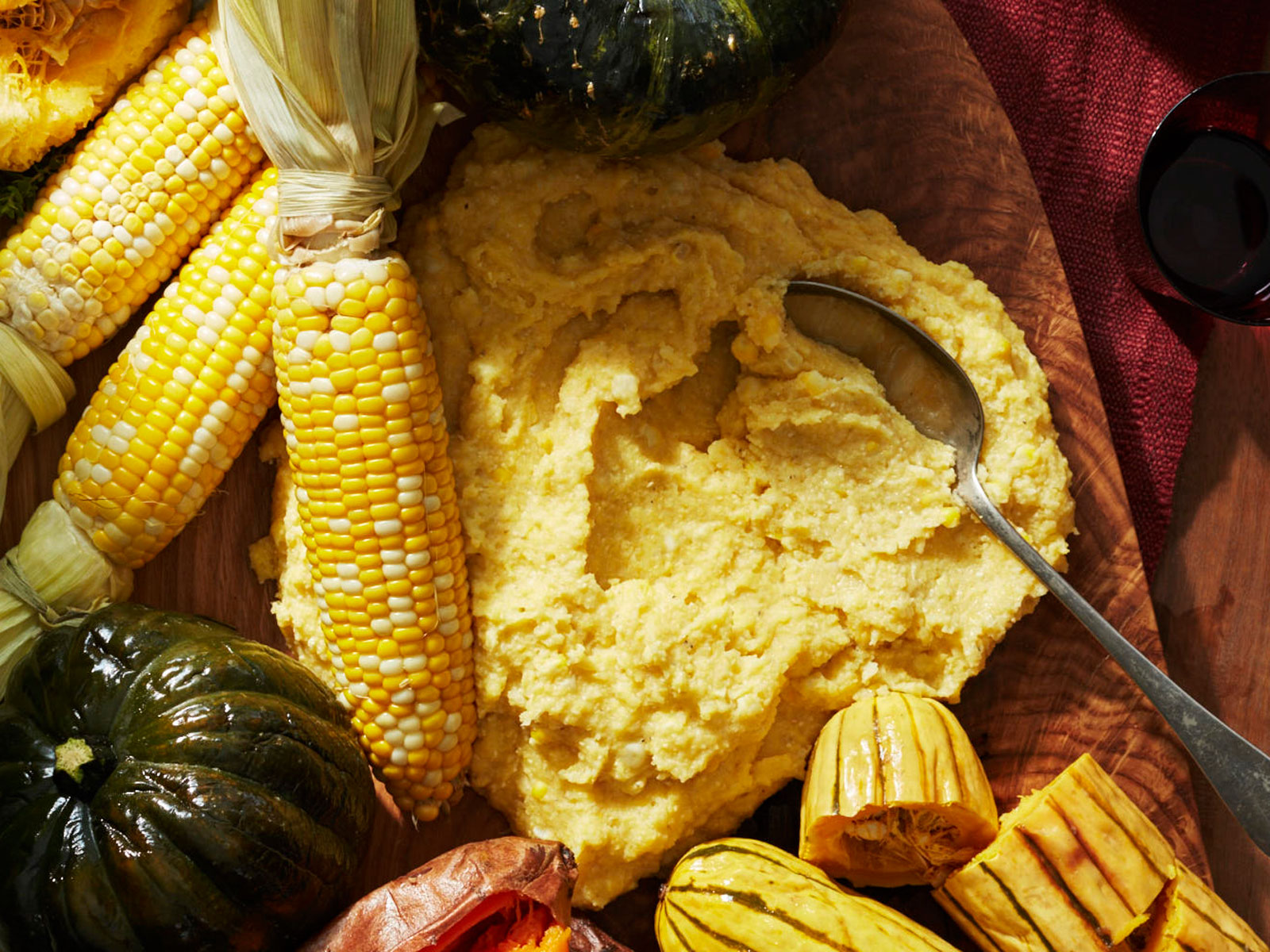 Creamed Corn Grits Recipe