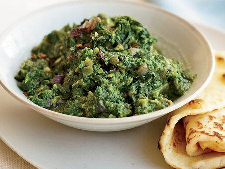 Indian-Style Mustard Greens