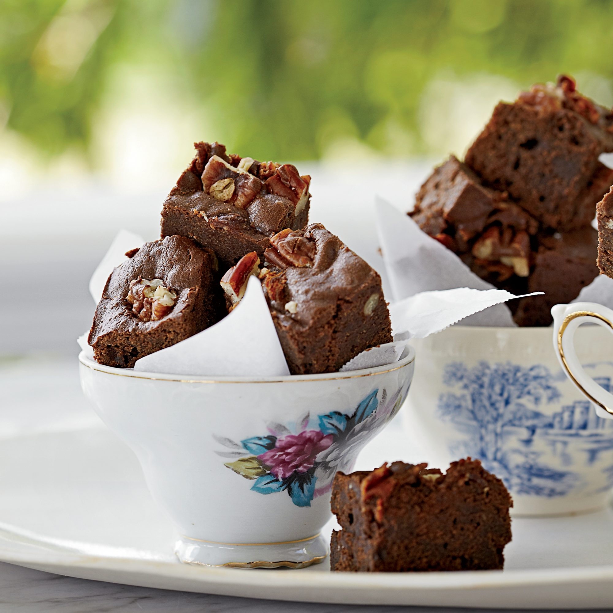 Bacon-Bourbon Brownies with Pecans