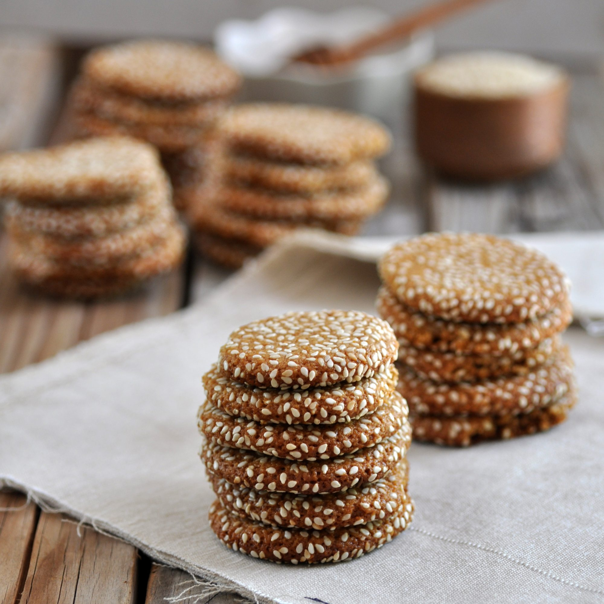 Honey Tahini Cookies