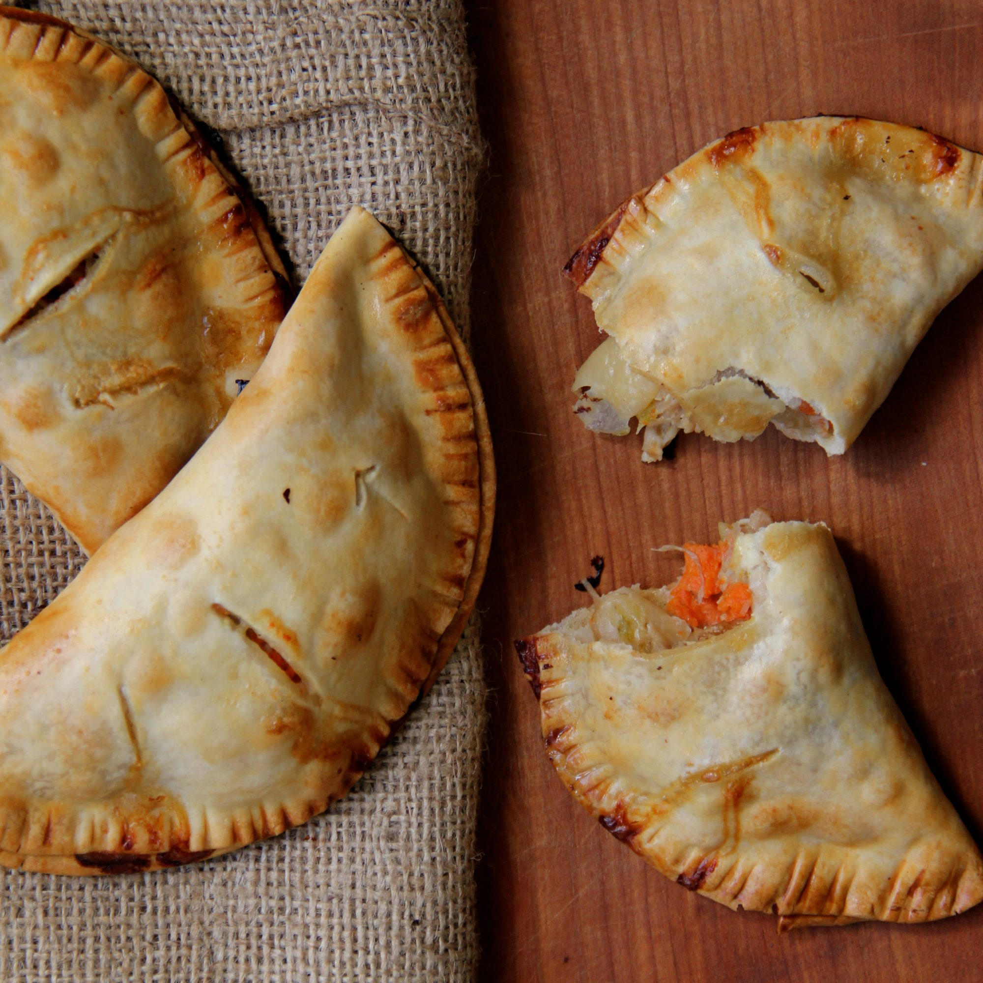 Chicken Pot Pie Hand Pies Recipe Scott Hocker Food Wine
