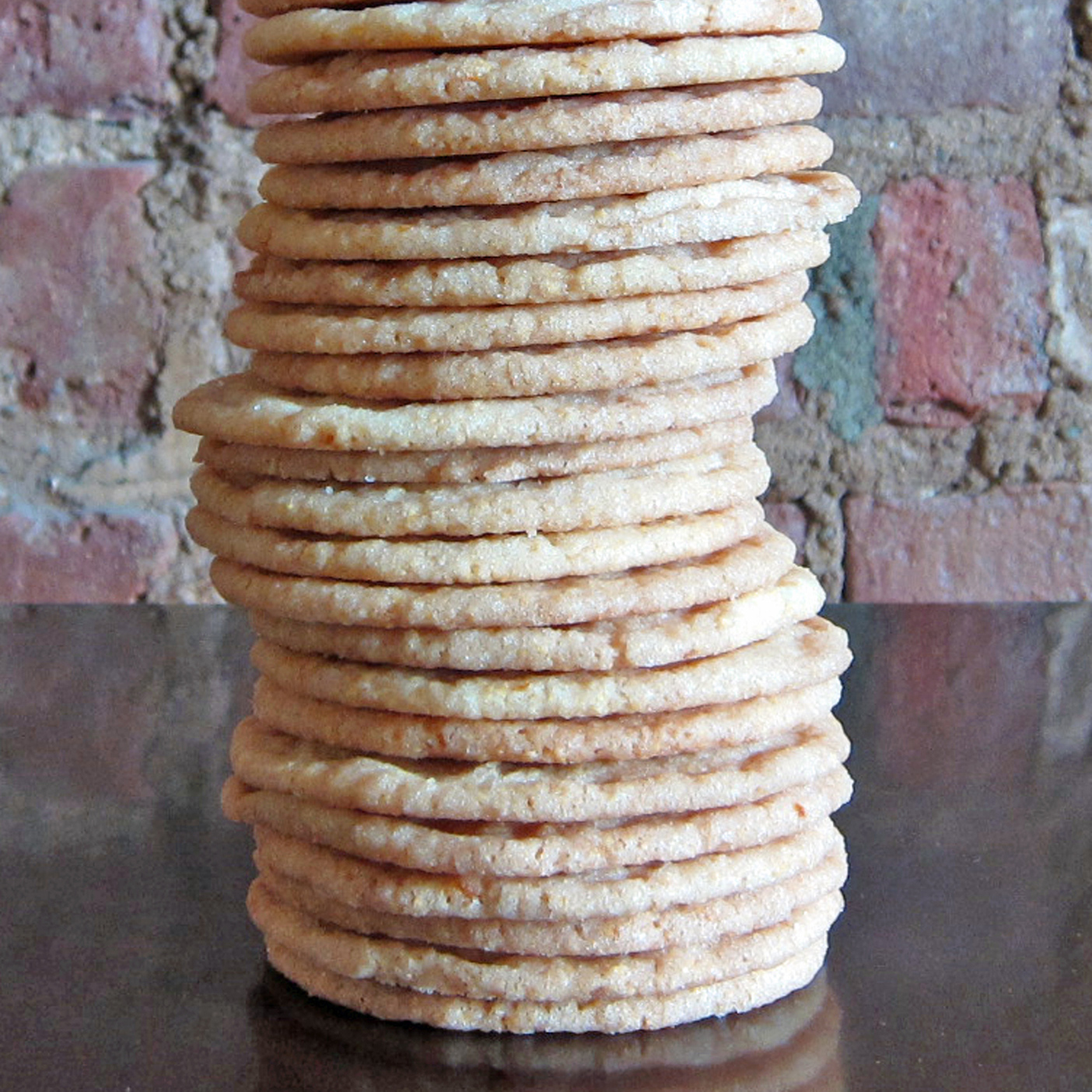 Cornmeal Sugar Cookies