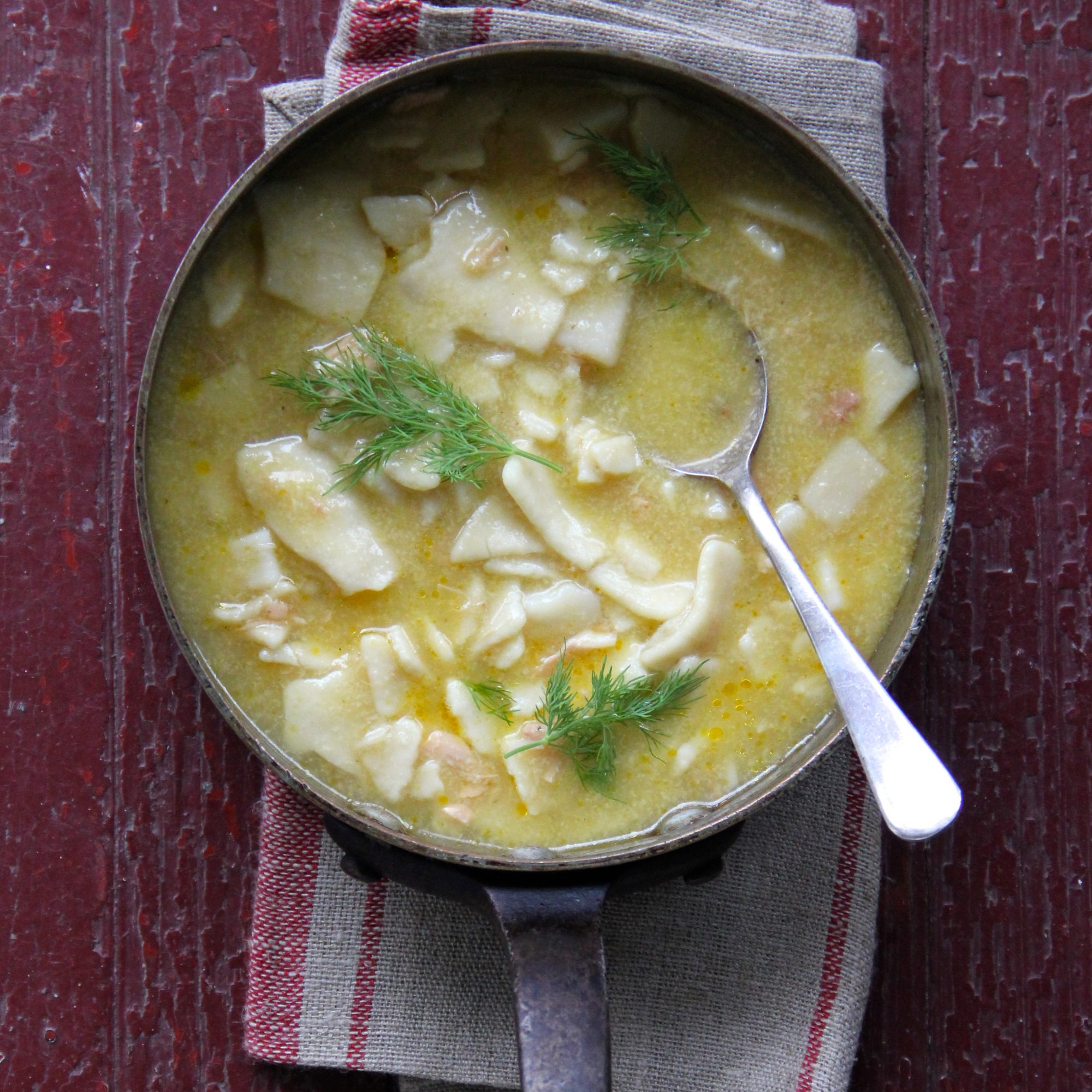 Pennsylvania Dutch Chicken Noodle Soup