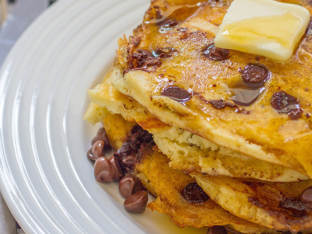 March 11: Chocolate Chip Coconut Pancakes