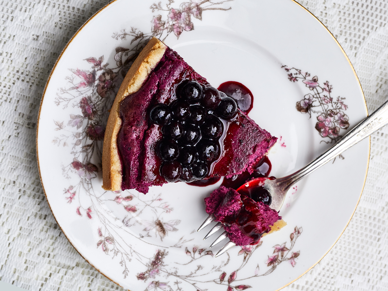 Black Currant Cheesecake Recipe