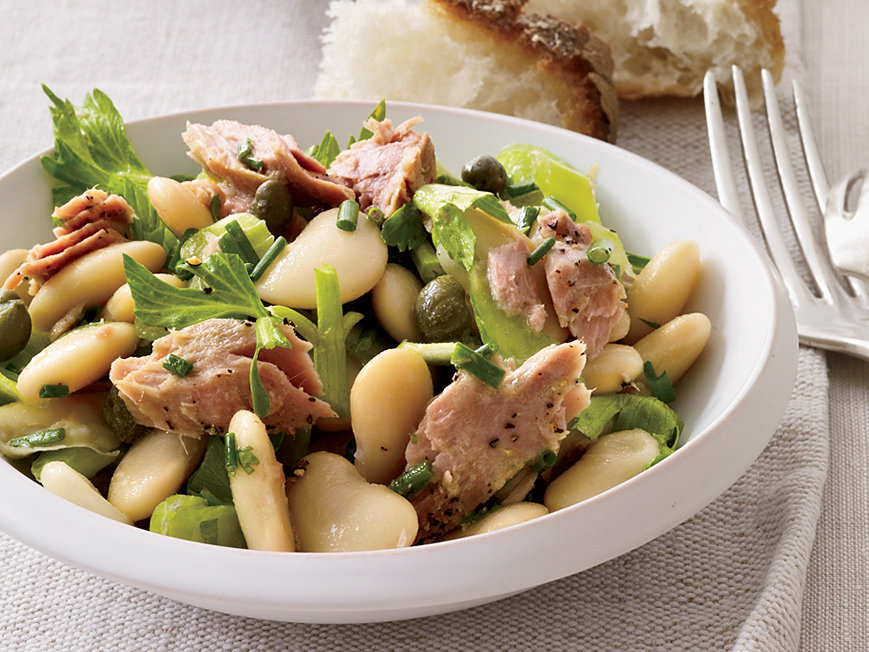 Butter Bean, Tuna and Celery Salad