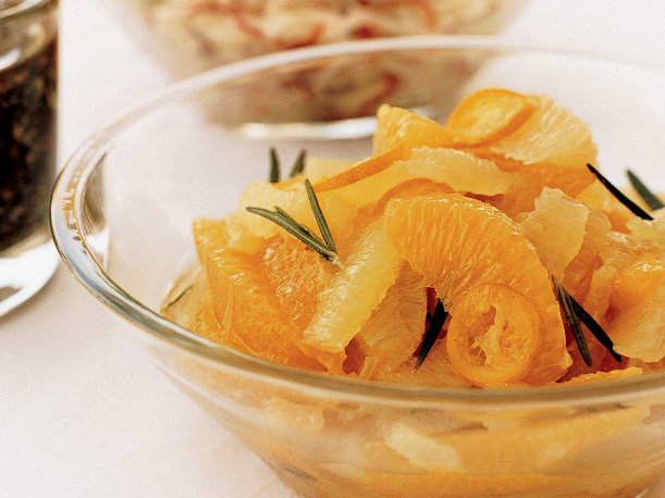 citrus salsa with rosemary