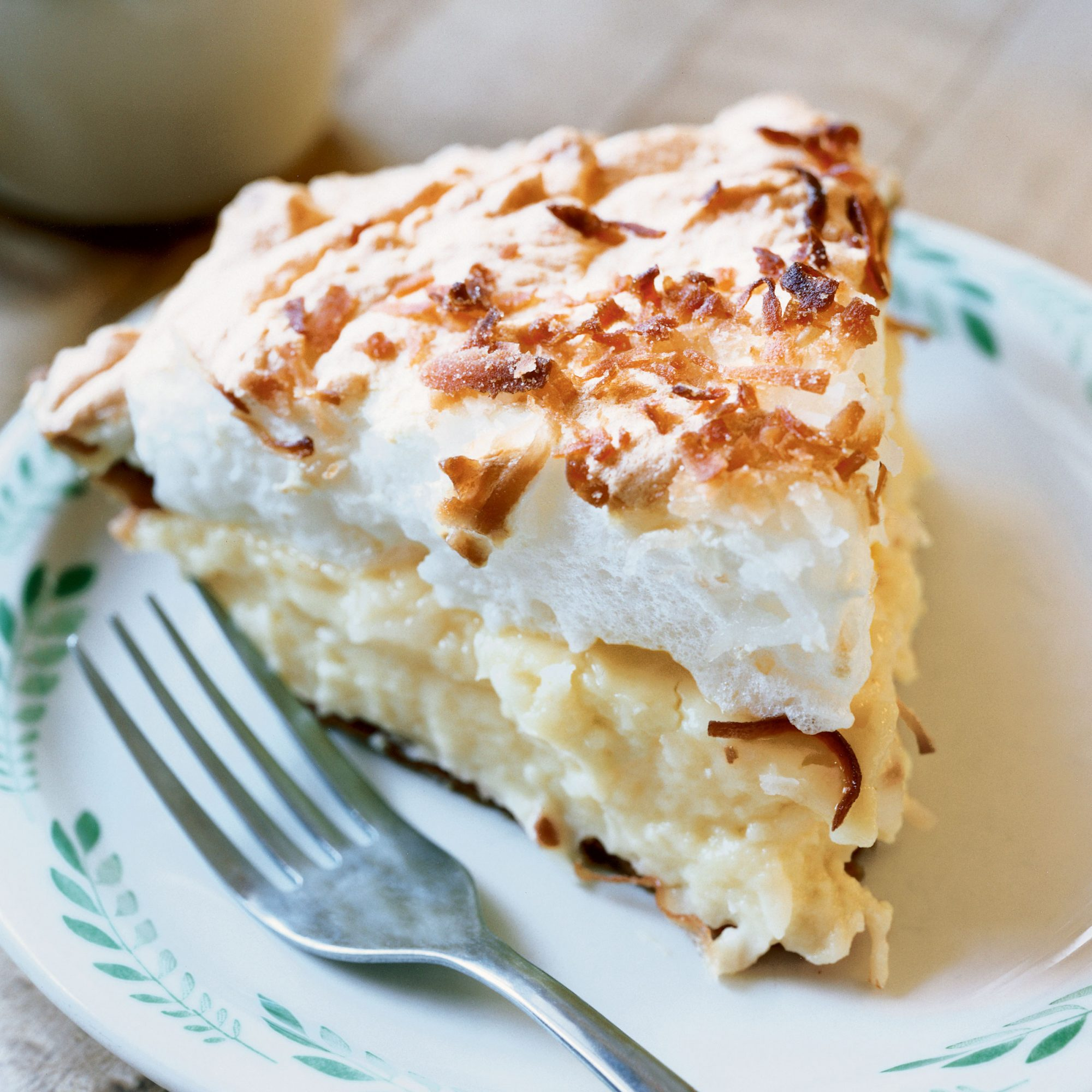 Coconut-Custard Meringue Pie