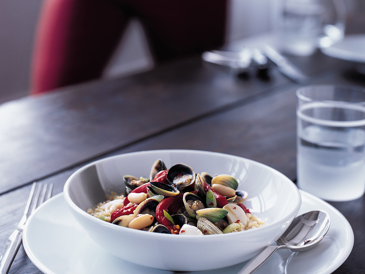 Couscous with Clams