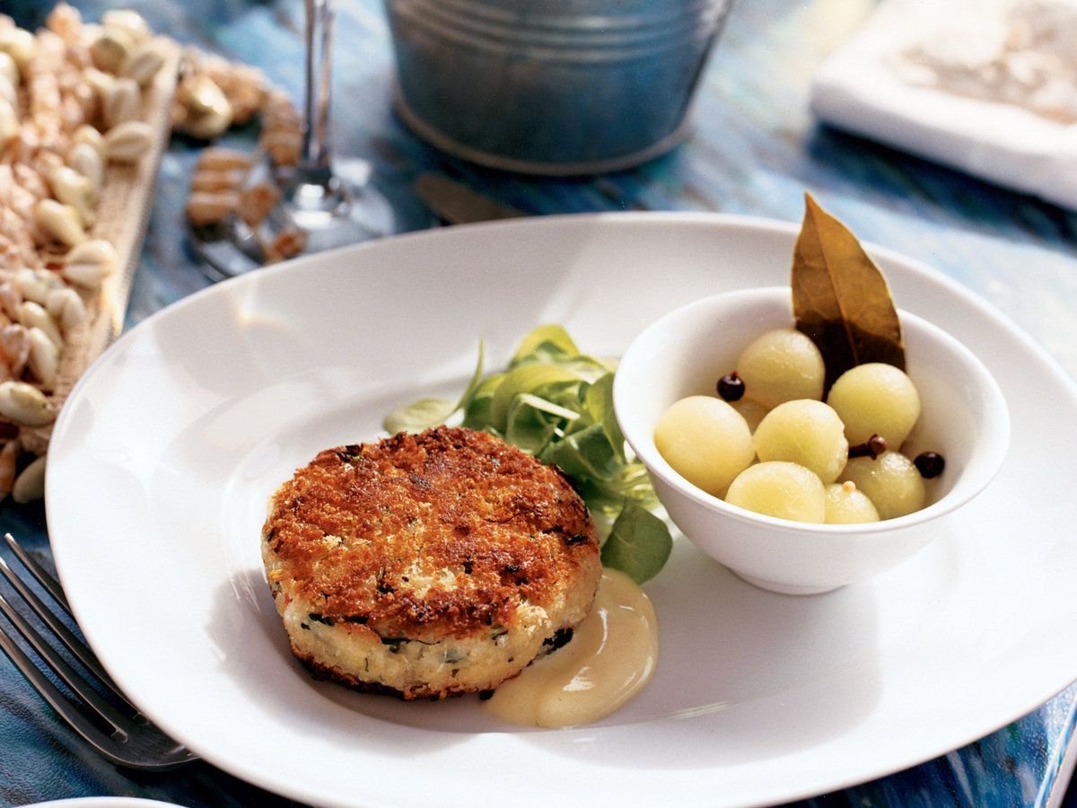 Crab Cakes with Lemongrass Mayonnaise