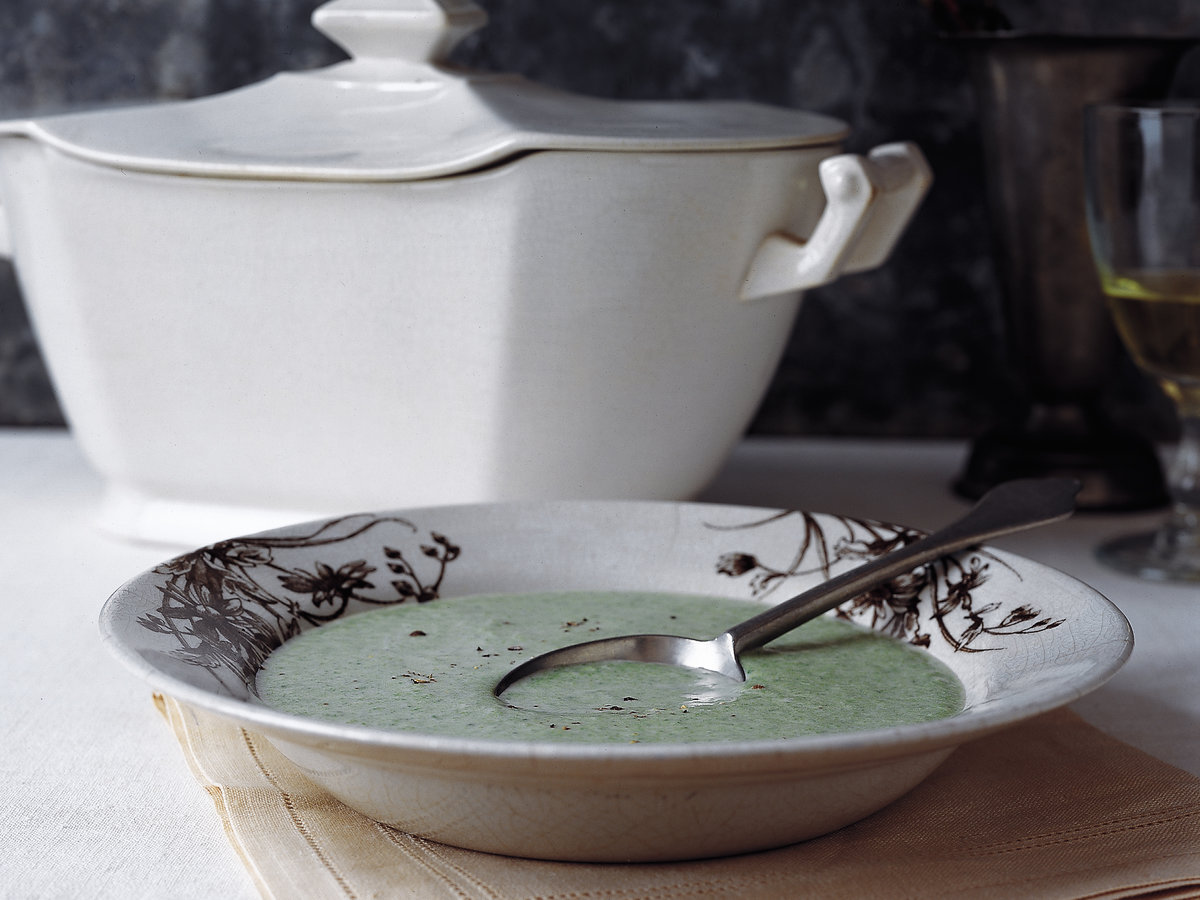 Creamy Nettle and Potato Soup